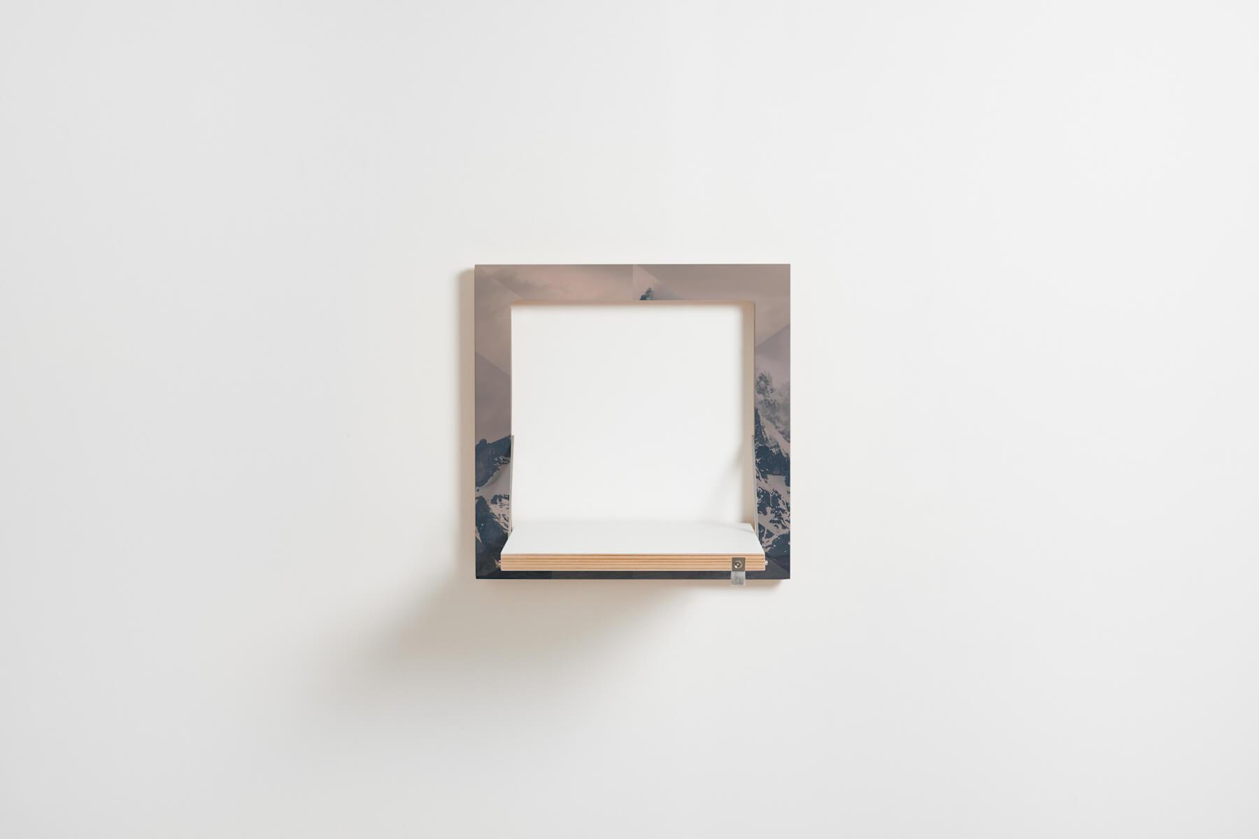 fl pps regal 40x40x1 von ambivalenz aus berlin. Black Bedroom Furniture Sets. Home Design Ideas