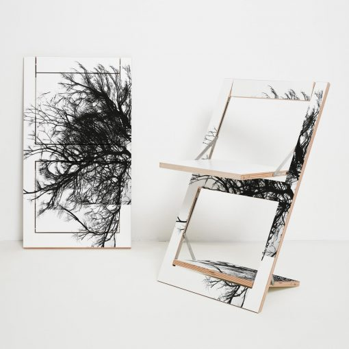 Bedruckbarer Design Klappstuhl Fläpps Baum
