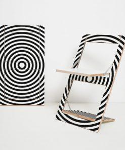 Design Klappstuhl Fläpps – Kreise