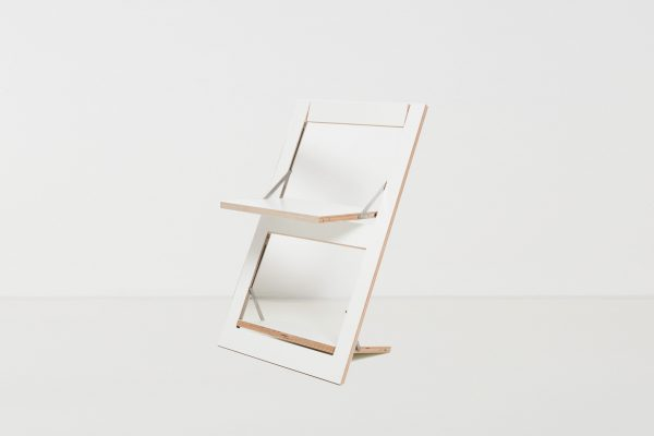 Design Klappstuhl Fläpps – weiss