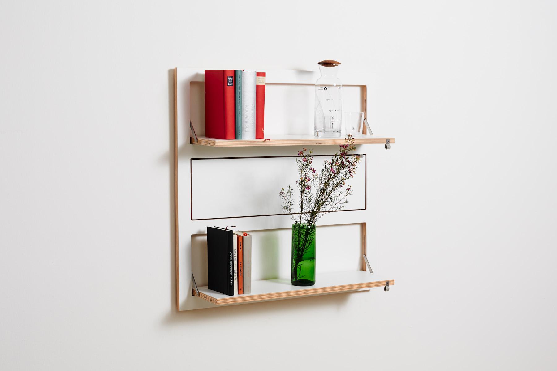 fl pps regal 80x80 3 wei. Black Bedroom Furniture Sets. Home Design Ideas