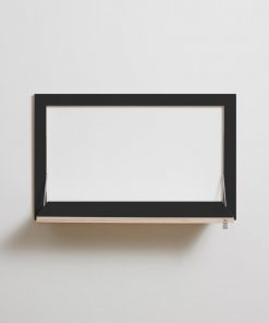 Flaepps Sekretaer in Wall Desk AMBIVALENZ black